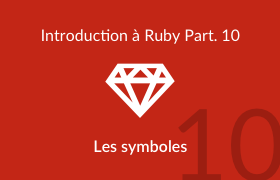 Introduction à Ruby - Les symboles