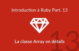 La classe Array en détails