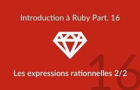 Les expressions rationnelles - Partie 2